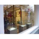 glazen vitrinekap, 30 x 30 x 30 cm (lxbxh), 6mm glas