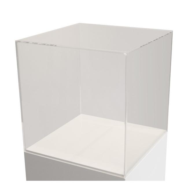 plexiglas vitrinekap, 50 x 50 x 50 cm (lxbxh), 4mm plexiglas