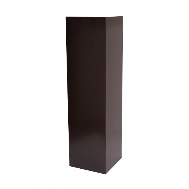 Solits sokkel zwart, 30 x 30 x 115 cm (lxbxh)