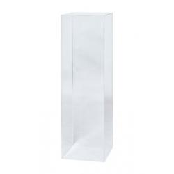 plexiglas sokkel 30 x 30 x 100 cm