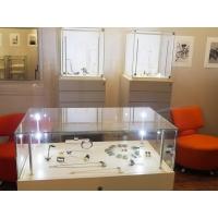 vitrine display met lade, 45 x 45 x 55 cm (lxbxh)