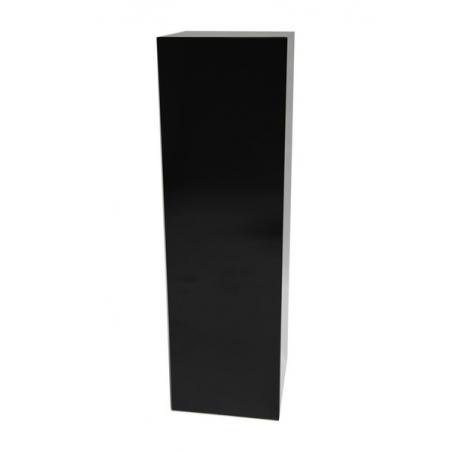 Solits sokkel zwart hoogglans, 40 x 40 x 100 cm (lxbxh)