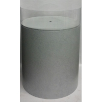 Plexiglas beschermkap rond, diameter 20 cm, hoogte 20 cm