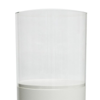 Plexiglas beschermkap rond, diameter 25 cm, hoogte 25 cm