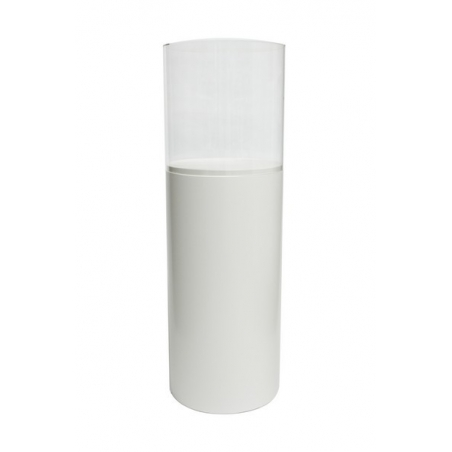 Plexiglas beschermkap rond, diameter 30 cm, hoogte 30 cm