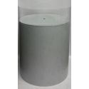 Plexiglas beschermkap rond, diameter 40 cm, hoogte 40 cm