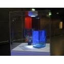 plexiglas vitrinekap, 45 x 45 x 45 cm (lxbxh), 4mm plexiglas