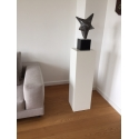 Solits sokkel wit, 20 x 20 x 90 cm (lxbxh)