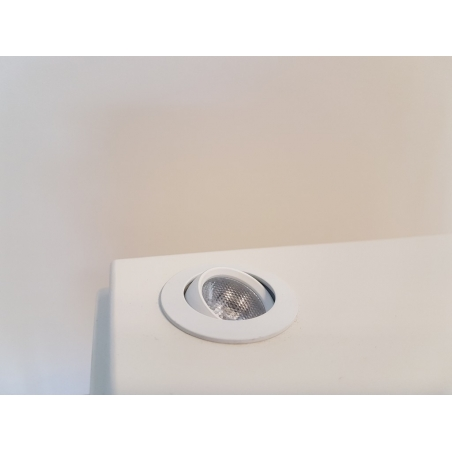 LED-Spot, Type 8, diam. 35mm. 1W, wit