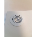 LED-Spot, Type 8, diam. 35mm. 1W, wit