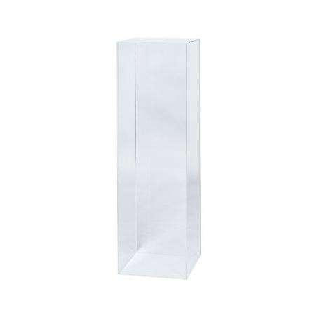 plexiglas sokkel, 35 x 35 x 100 cm (lxbxh)