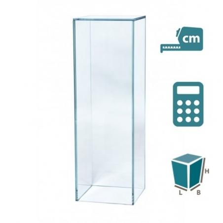 Sokkel Glas, op maat