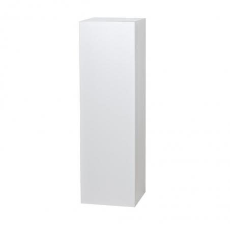 Solits sokkel wit hoogglans, 30 x 30 x 100 cm (lxbxh)