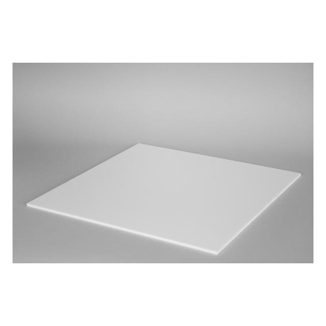 Top 4mm plexiglas wit, op maat
