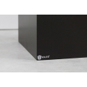 Solits sokkel zwart, 25 x 25 x 115 cm (lxbxh)