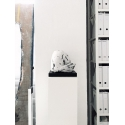 Solits sokkel wit, 25 x 25 x 115 cm (lxbxh)