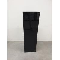 solits sokkel zwart hoogglans 30 x 30 x 100 cm (LXBxH) - SALE