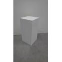 Solits sokkel wit parelmoer hoogglans 30 x 30 x 60 cm (LXBxH) met LED aansluiting - SALE