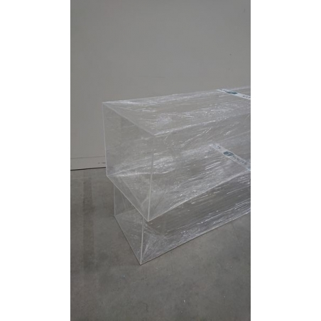 Plexiglas vitrinekap 25 x 100 x 25 cm (LXBxH) - SALE