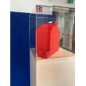 plexiglas vitrinekap, 20 x 20 x 20 cm (lxbxh), 4mm plexiglas