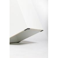 sokkel wit met rond draaiplateau, 60 x 60 x 100 cm (lxbxh)