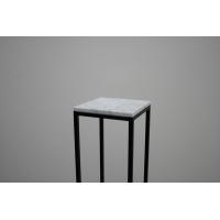 Top wit marmer (Carrara, 20mm), op maat