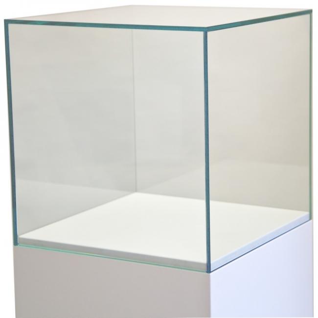 glazen vitrinekap, 60 x 60 x 60 cm (lxbxh), 6mm glas