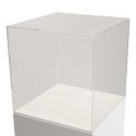 plexiglas vitrinekap, 40 x 40 x 40 cm (lxbxh), 4mm plexiglas