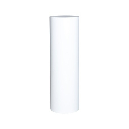 ronde sokkel wit, Ø 25 x 100 cm (h)