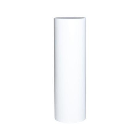 ronde sokkel wit, Ø 50 x 100 cm (h)